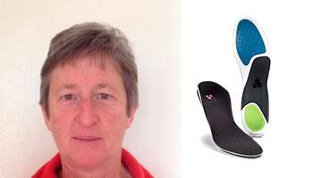 Melanie Elkington Align Footwear insoles