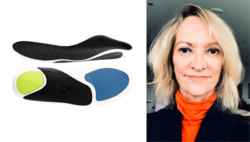 Trudy Whitehead Align Footwear insoles
